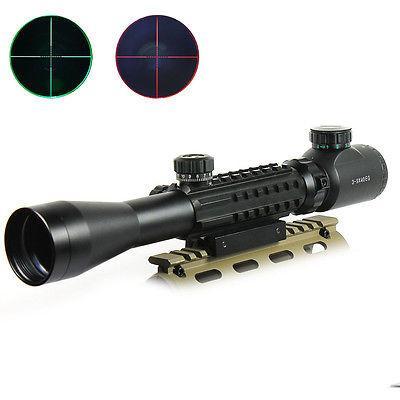 3-9X40 EG Optical Rifle Scope Mil Dot illuminated Reticle 20/11mm Rail Mount