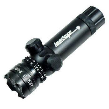 Red dot Laser sight rifle gun scope - Rail & Barrel Mounts Cap Pressure Switch