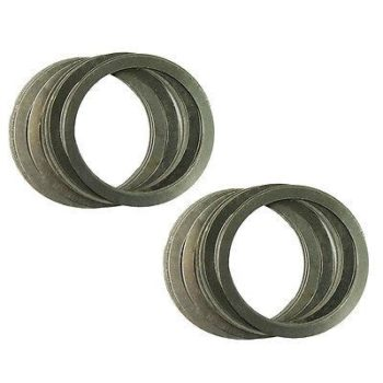 20 Pcs Free Float Rail Nut Washer Shims for Adjustment and Align Stainless Steel