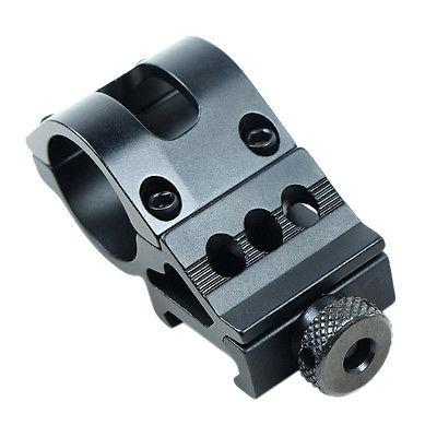 """1"""" Offset Scope Ring with Rail Mount & KeyMod Rail Section for Laser / Flashlight"""