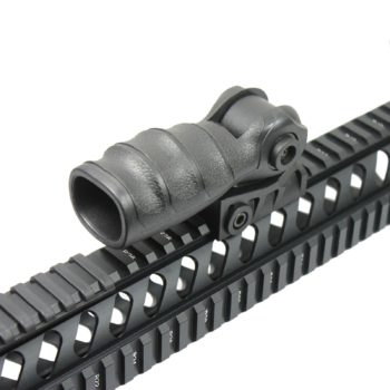 Tactical Push-On QR Vertical Forward Folding Foregrip Grip for Picatinny Rails