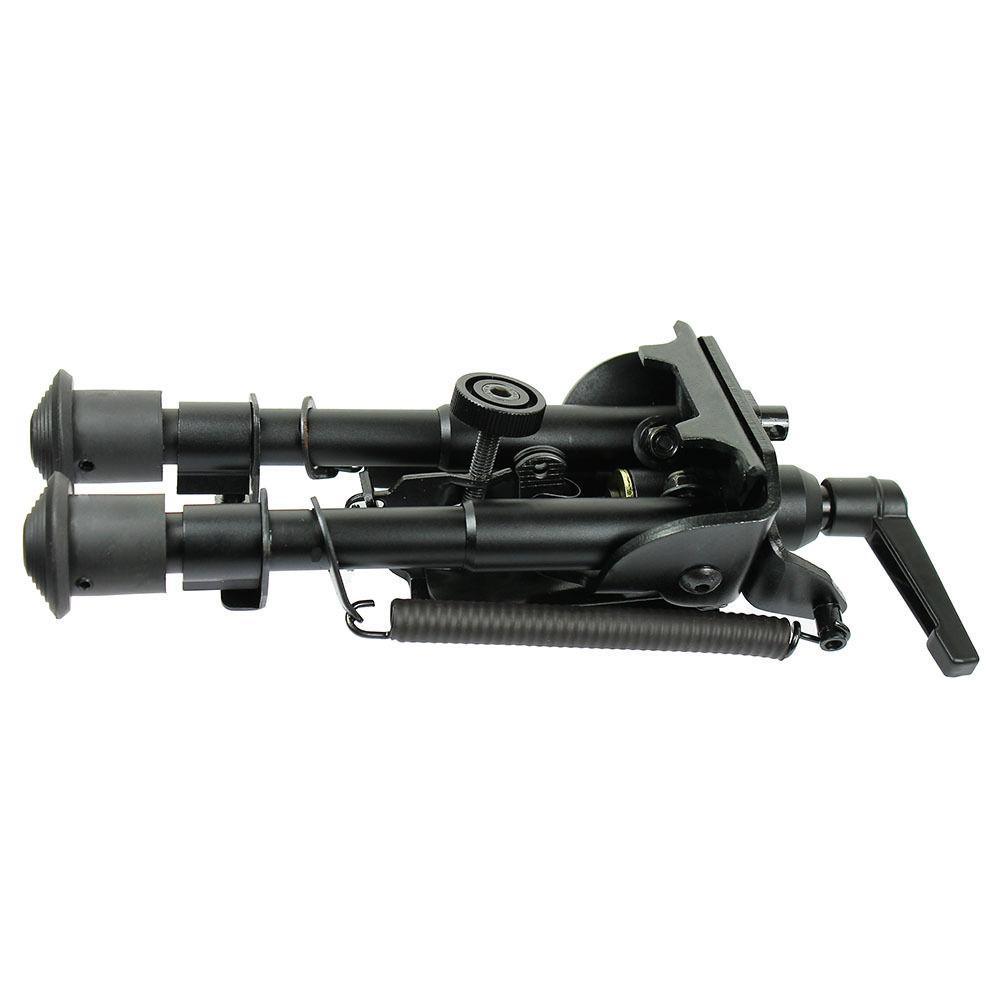 "6/"" to 9/"" Adjustable Pivot Rotating Spring Return Rifle Bipod Adjustable Legs"
