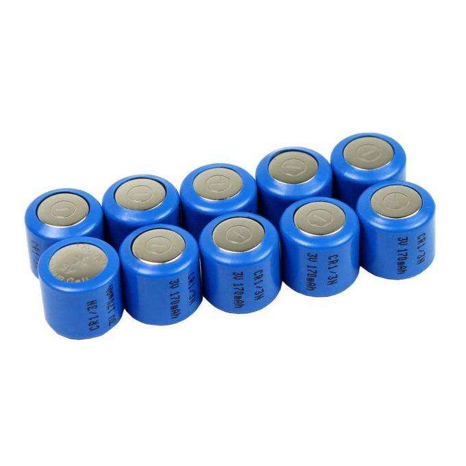 10 Pack CR1/3N 5008LC DL1/3N K58L 2L76 1/3N Lithium Battery Camera Dog Collar