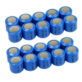20 Pack CR1/3N 5008LC DL1/3N K58L 2L76 1/3N Lithium Battery Camera Dog Collar