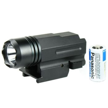 Sub Compact Tactical Pistol 160 Lumen LED Flashlight Fits Glock Ruger XD Xdm