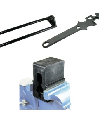 .223 5.56 Gun Tool Set- Armoreror's Wrench Upper Vise Block Delta Ring Wrench