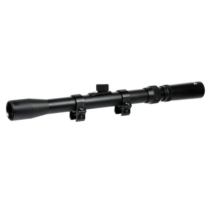 3-7X20 Rifle scope with Rings for Air Gun / Hunting Crossbow Archery