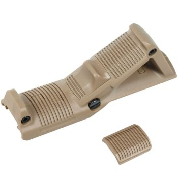 Tactical Angled Foregrip Hand Guard Front Grip for Picatinny Rail - Dark Tan