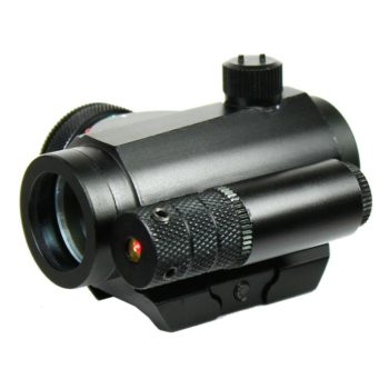 Tactical Reflex Green / Red Dot Sight Scope & Laser Sight Combo with Rail Mount
