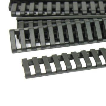 "24 PCS 7"" Heat Resistant Rifle Ladder Rail Cover Weaver Picatinny Handguard"