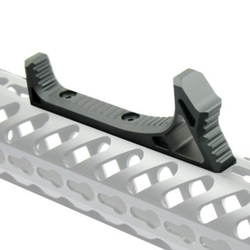 Curved Angled Foregrip Front Grip Fits KeyMod Handguard Rails for RPR All Metal