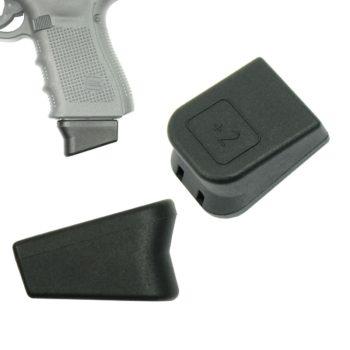 Pack of 10 Glock OEM Plus 2 9mm Magazine Extensions